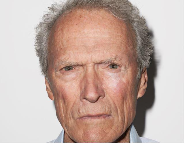 Clint Eastwood gray eyes